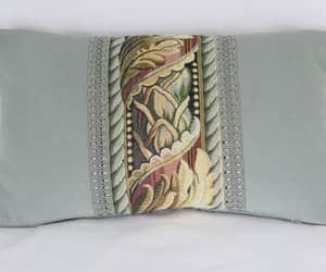 etsy, 12 x 20 lumbar throw, and vintage look image