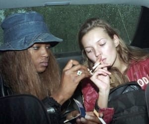 girl, kate moss, and model image