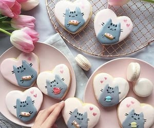 cat, cookie, and Cookies image