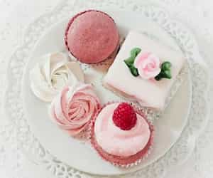 sweet, cupcake, and pink image