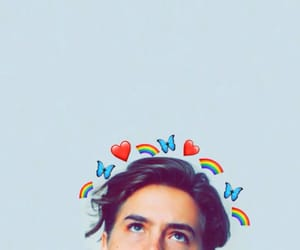 riverdale, cole sprouse, and happiness image