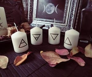 candle and wicca image