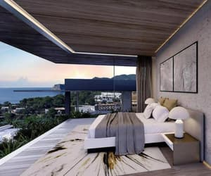 interior, luxury, and bedroom image