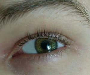 aesthetic, eye, and green image