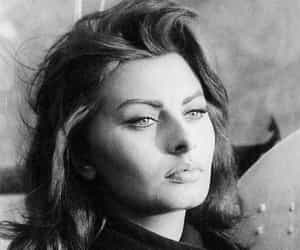sophia loren, vintage, and icon image
