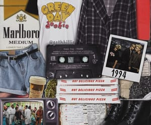 90s, aesthetic, and green day image