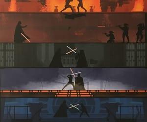 star wars, duels, and star wars saga image