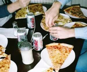 coke, hangout, and fast food image