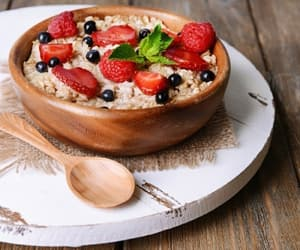 breakfast, healthy, and nutrition image
