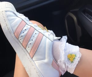 adidas, fashion, and girly image