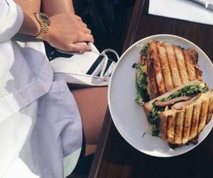 food, adidas, and sandwich image