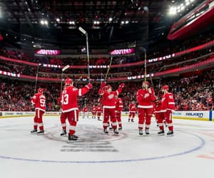 Ice Hockey, nhl, and detroit red wings image
