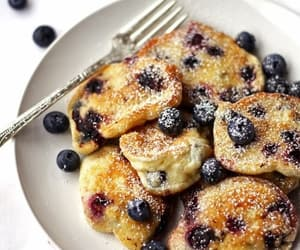 food, blueberry, and inspiration image