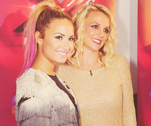 demi lovato and britney spears image