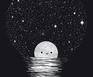 blackandwhite, moon, and tumblr image