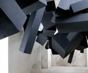 black, installation, and design image