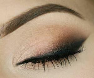 eye, fashion, and make up image