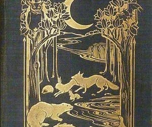 Alfred, book cover, and forest image