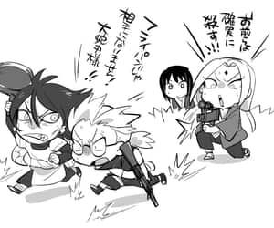 naruto, tsunade, and orochimaru image