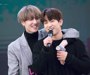 bts, yugyeom, and jinyoung image