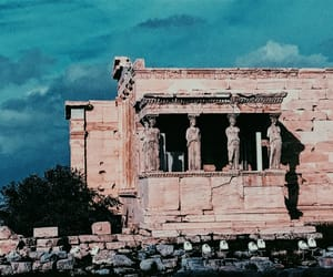 acropolis, ancient, and Athens image