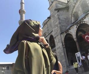 fashion, istanbul, and hijab image