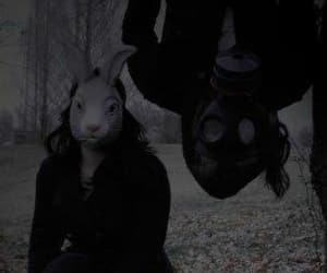 black, creepy, and white image