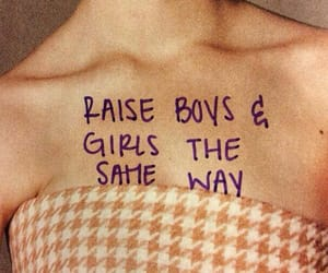 boy, equality, and feminism image