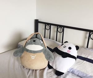 totoro, cute, and aesthetic image
