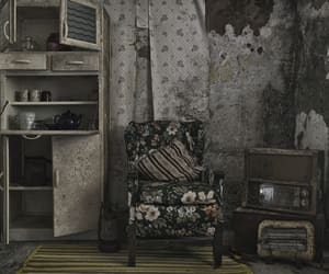 abandoned, alone, and art image