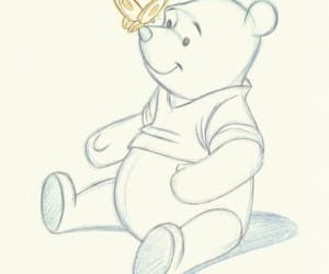 winnie the pooh, disney, and drawing image