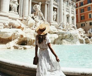girl, travel, and fashion image