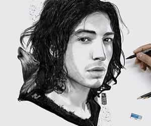draw and ezra miller image