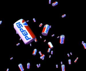 art, cola, and fun image