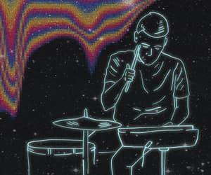 boys, neon, and dance image