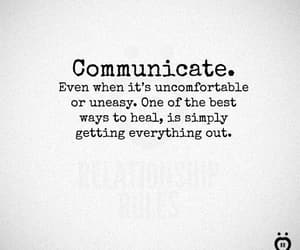 communication, feel, and lover image