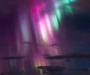 cold, frost, and northern lights image