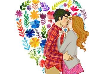 art, kiss, and stydia image