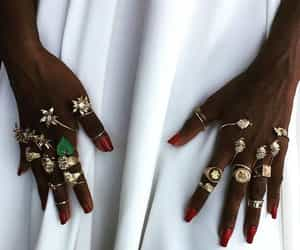 fashion, rings, and photography image