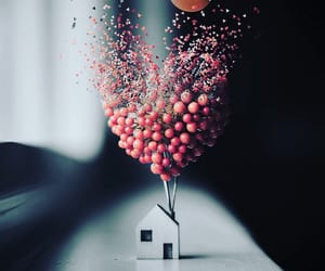 balloon, photography, and tilt shift image