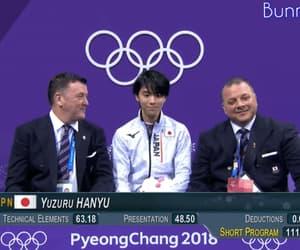 figure skating, gif, and yuzuru hanyu image
