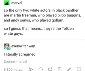 black panther, humor, and Marvel image