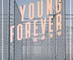 army, young forever, and kpop image