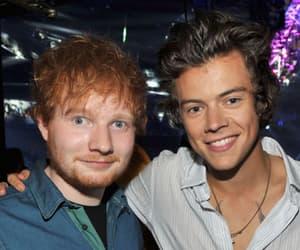 Harry Styles, ed sheeran, and 1d image