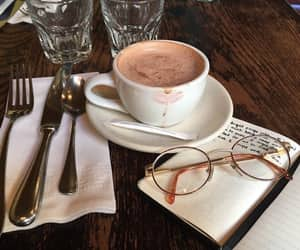 coffee, food, and glasses image