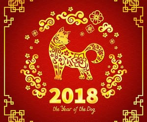 chinese new year, 2018, and year of the dog image