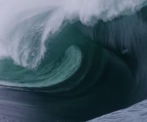 gif, waves, and ocean image