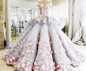 dresses, wedding, and fashion image