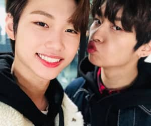 felix, Minho, and stray kids image