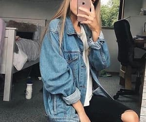 blond, grunge, and jeans image